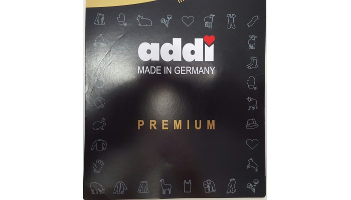 Addi needles 4mm