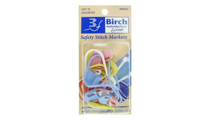 Safety stitch markers