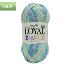 4 ply Loyal baby print