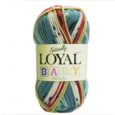 8ply Loyal baby pattern print