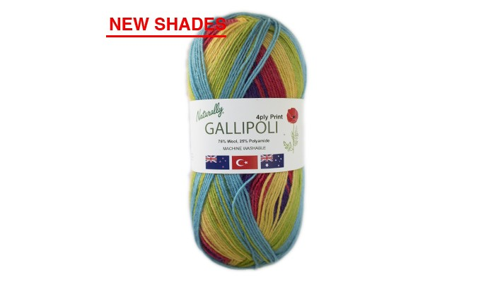 4ply Gallipoli Print