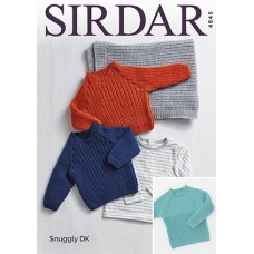 Easy sweater kit 0-7 year